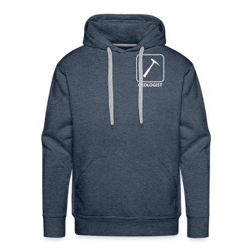 Geologist - Sweat-shirt à capuche Premium pour hommes