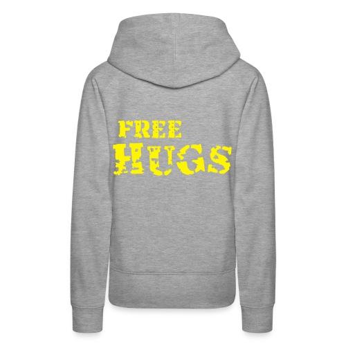''Free Hugs'' Hoodie - Women's Premium Hoodie
