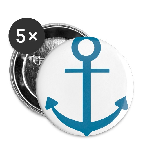 anchor badges - Buttons small 1''/25 mm (5-pack)