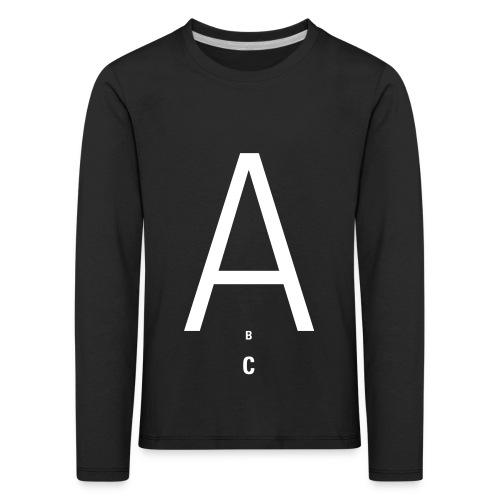 A(BC) Team, Kids T-Shirt - Kinder Premium Langarmshirt