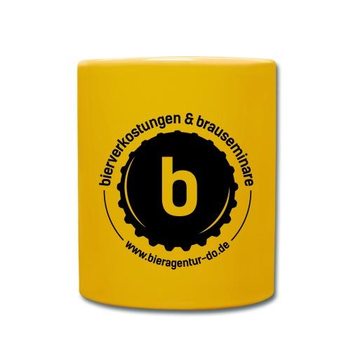 Tasse gelb - Tasse einfarbig