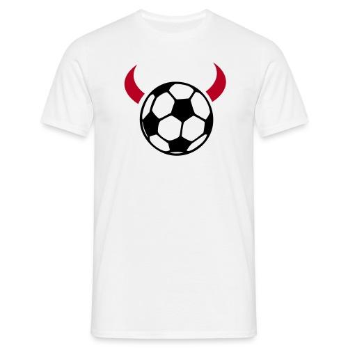 Fußball-Teufel - Männer T-Shirt