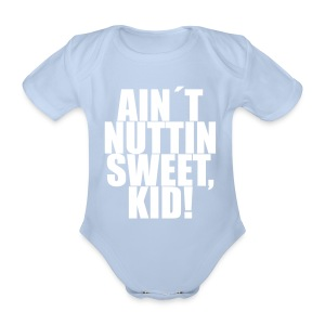 Gutterromper - Baby bio-rompertje met korte mouwen