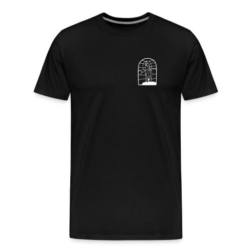 Harawyn Polderwolf Zwart / wit - Mannen Premium T-shirt