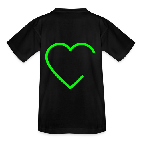 open Heart   T-shirt - Teenager T-Shirt