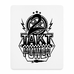 2-Takt-Power / Zweitakt Power - Mouse Pad (vertical)