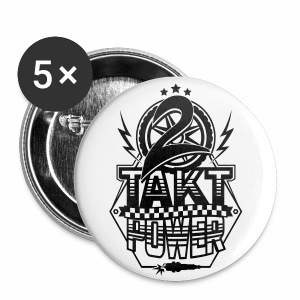 2-Takt-Power / Zweitakt Power - Buttons medium 32 mm