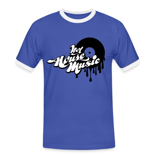 T-shirt Homme Hot House Music - T-shirt contrasté Homme