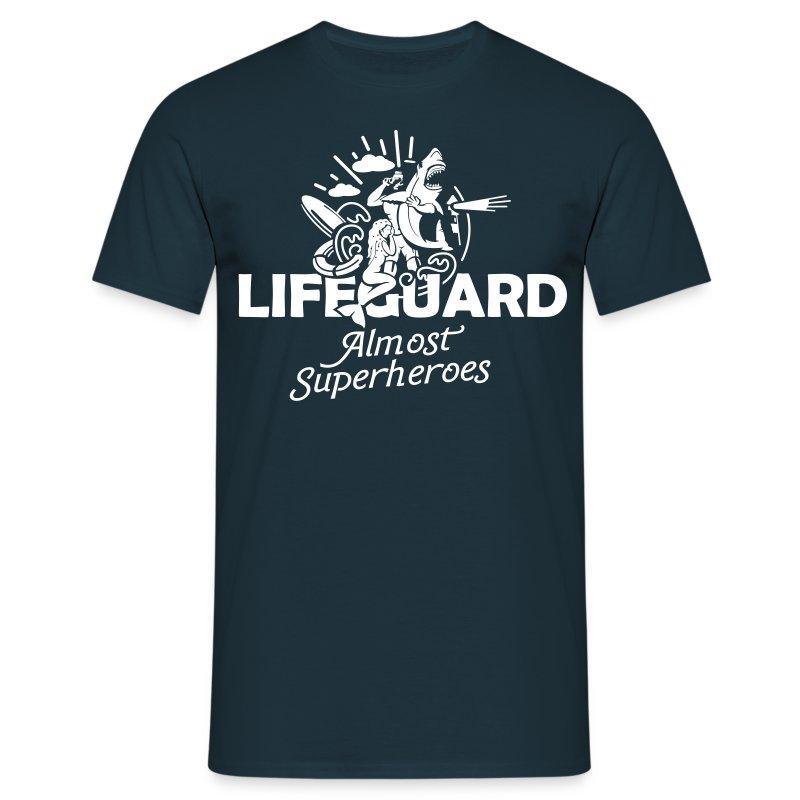 Lifeguard-heroes - Männer T-Shirt