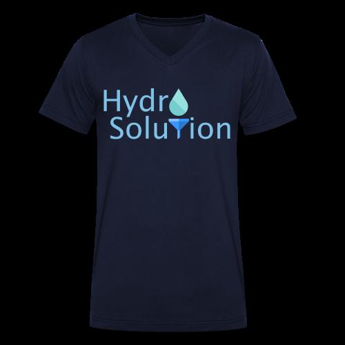 T-Shirt V-Ausschnitt (Hydro Solution) - Männer Bio-T-Shirt mit V-Ausschnitt von Stanley & Stella