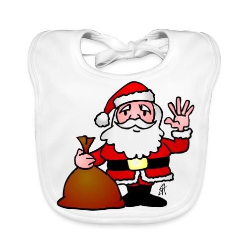 Santa's Sack Bib - Baby Organic Bib