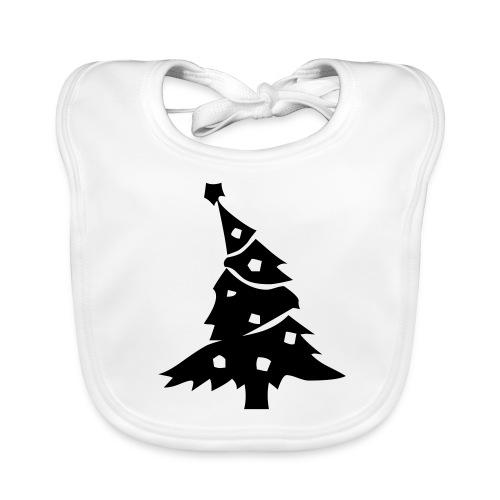 Wonky Tree Bib - Baby Organic Bib