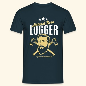 Natural Born Logger - Männer T-Shirt