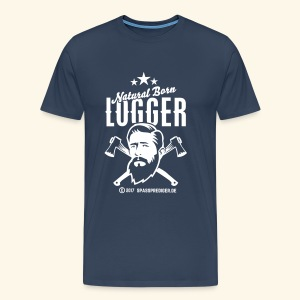 Natural Born Logger - Männer Premium T-Shirt