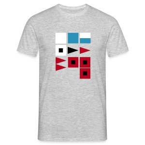 Weather Signal Flags - Men's T-Shirt