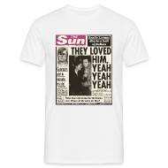 T-Shirts ~ Men's T-Shirt ~ They Loved Him, Yeah, Yeah, Yeah