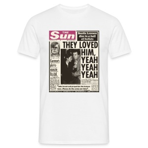 They Loved Him, Yeah, Yeah, Yeah - Men's T-Shirt