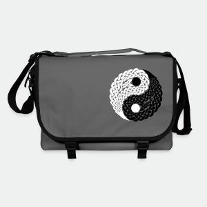 Bag Celtic Yin Yang black and white - Shoulder Bag