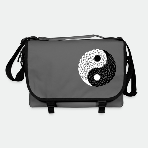Bag Celtic Yin Yang black and white - Shoulder Bag