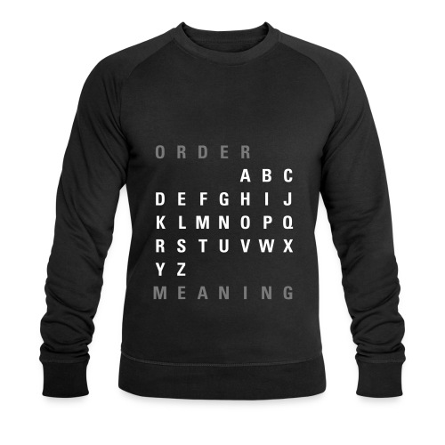 ABC Order / Meaning (EN), Ms Sweatshirt - Männer Bio-Sweatshirt von Stanley & Stella