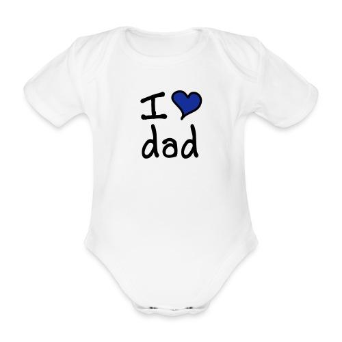 BABY VEST 1 - Organic Short-sleeved Baby Bodysuit