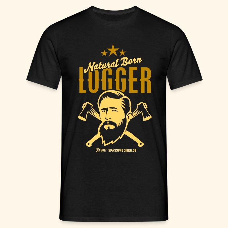 Natural Born Logger - Männer T-Shirt