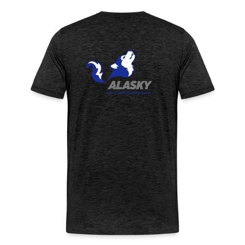 Alasky Logo - Männer Premium T-Shirt