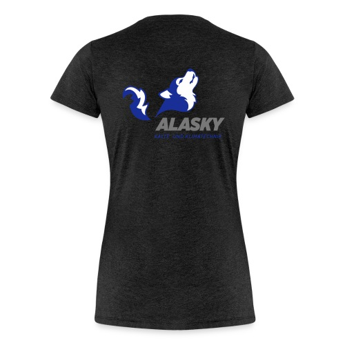 Alasky Logo - Frauen Premium T-Shirt
