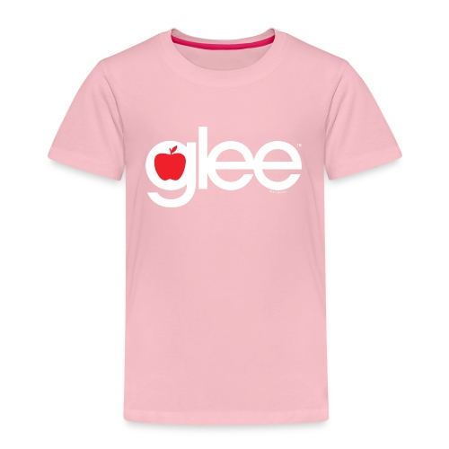Glee Logo Schriftzug Apfel - Kinder Premium T-Shirt