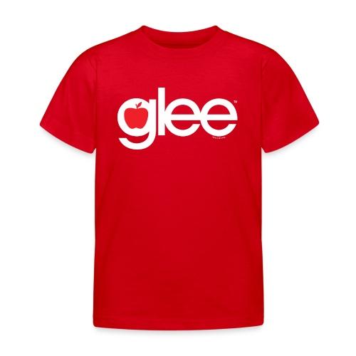 Glee Logo Schriftzug Apfel - Kinder T-Shirt