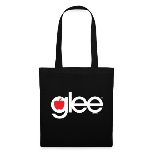 Glee Logo Schriftzug Apfel - Stoffbeutel