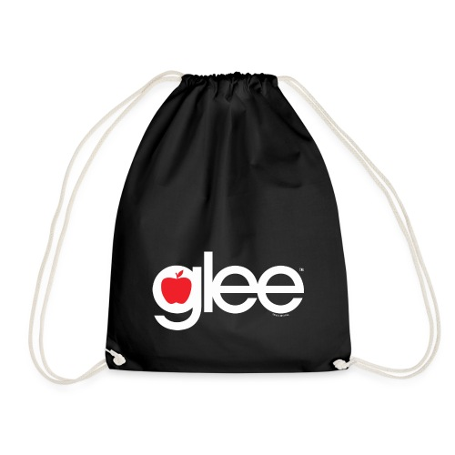 Glee Logo Schriftzug Apfel - Turnbeutel
