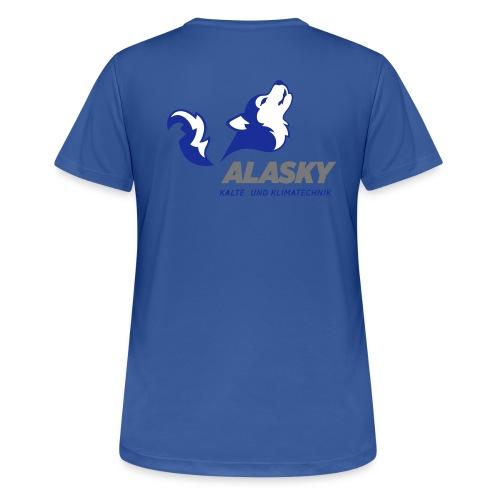Alasky Logo - Frauen T-Shirt atmungsaktiv