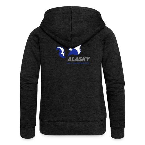 Alasky Logo - Frauen Premium Kapuzenjacke