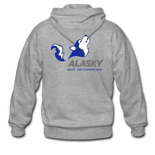 Alasky Logo - Männer Premium Kapuzenjacke