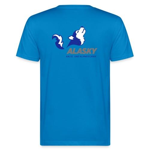 Alasky Logo - Männer Bio-T-Shirt