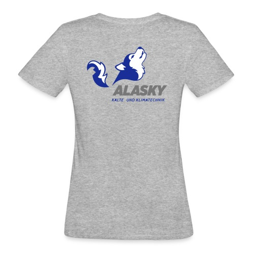 Alasky Logo - Frauen Bio-T-Shirt
