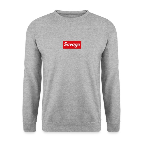 Savage – Box Logo Sweater - Männer Pullover