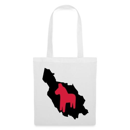Dalarna med häst - Tote Bag