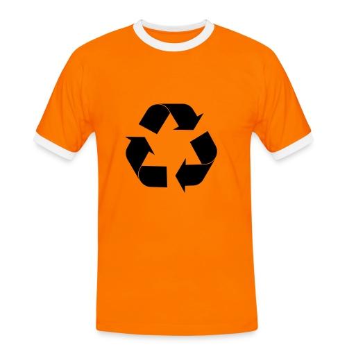Recycle - T-shirt - T-shirt contrasté Homme