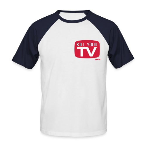 Kill Your TV - T-Shirt - T-shirt baseball manches courtes Homme