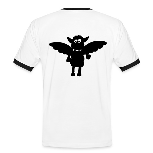 Black Devil Sheep - Men's Ringer Shirt