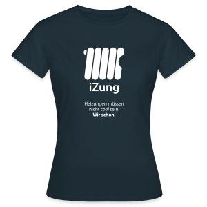 iZung für Frauen - Flockdruck - Frauen T-Shirt
