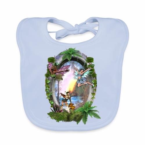 Mystical fairy garden - Baby Organic Bib