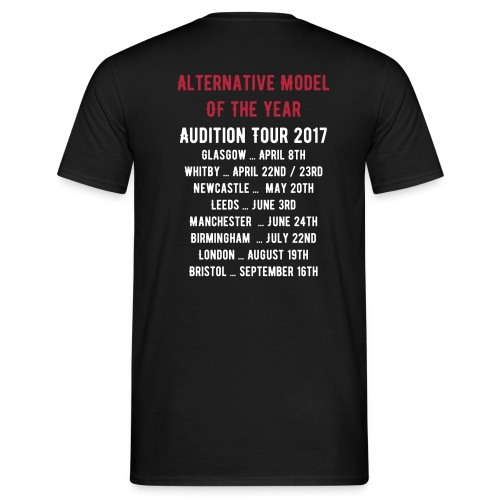 **LIMITED EDITION** Audition Tour 2017 Tee - Mens - Men's T-Shirt