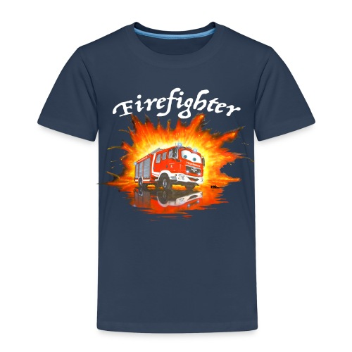 Shirt Firefighter MAN - Kinder Premium T-Shirt