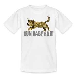run baby run! - Kids' T-Shirt