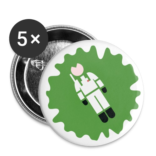 Slimed - I Feel So Funky! - Buttons small 25 mm