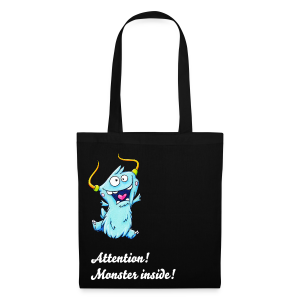 cloth bag monster - Stoffbeutel