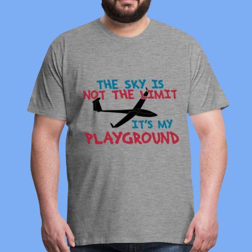 Segelflieger  - Men's Premium T-Shirt